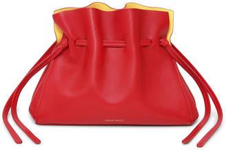 Mansur Gavriel Protea Mini Leather Bucket Bag