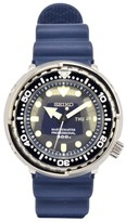 Seiko Marinemaster SBBN037 Stainless Steel / Rubber with Navy Blue Dial 47.5mm Mens Watch