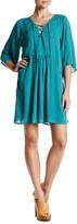 BB Dakota Becton Lace-Up Dress