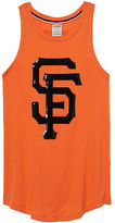 PINK San Francisco Giants Bling Rib Neck Tank