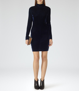 Reiss Greysie VELVET DRESS