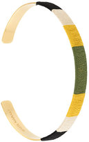 Isabel Marant woven panel bangle