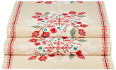 John Lewis Folklore Embroidered Table Runner, Neutral/Multi