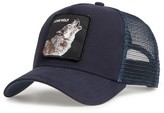 Goorin Bros. Men's Brothers Animal Farm Wolf Trucker Hat - Blue