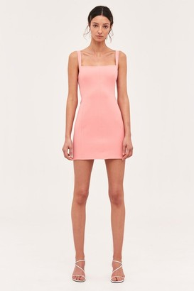 C/Meo CONSUMED MINI DRESS coral