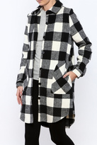 RD Style Plaid Coat
