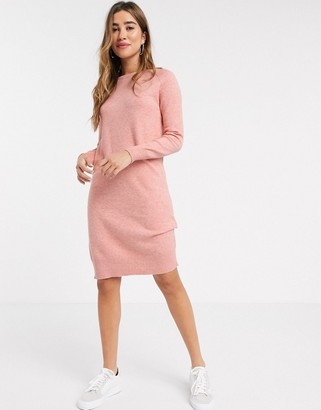 B.young b. Young casual sweater dress