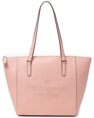 Kate Spade Sienne Large Leather Logo Tote Bag