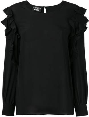 Moschino ruffled blouse