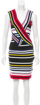 Preen Striped Bodycon Dress w/ Tags