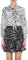 Marc Jacobs Women's Polka Dot Silk Tieneck Blouse