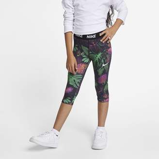 Nike Little Kids' 3/4 Floral Leggings Dri-FIT