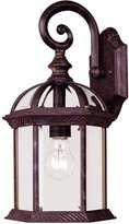 Savoy House 5-0633-72 Outdoor Sconce with Clear Beveled Shades, Finish
