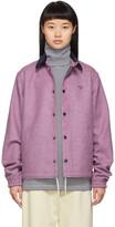 Noah NYC Pink Wool Short Coach Jacket