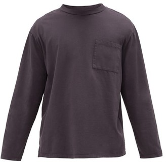 Jeanerica Jeans & Co. - Mino 180 Long-sleeved Cotton T-shirt - Grey Navy