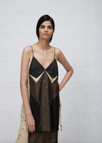 Josh Goot Military / Sand / Black Mini Dress