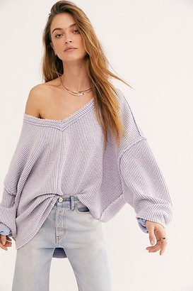 Free People Easy V Pullover