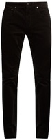 Vince 718 slim-leg cotton-corduroy trousers
