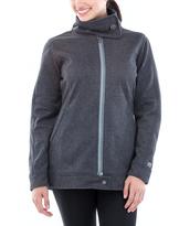 Black Asphalt Heather Coat