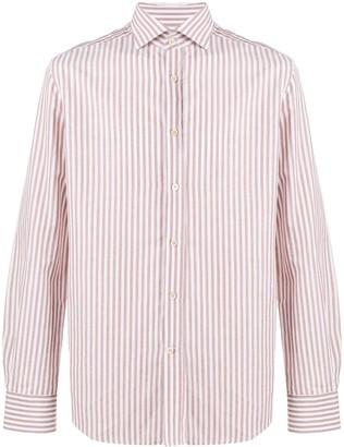 Corneliani Stripe Print Shirt