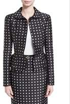 Ralph Lauren Carolyn Polka-Dot Jacket