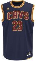 adidas Men's Cleveland Cavaliers NBA LeBron James Swingman Jersey Dark