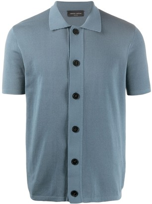 Roberto Collina Button-Down Polo Shirt