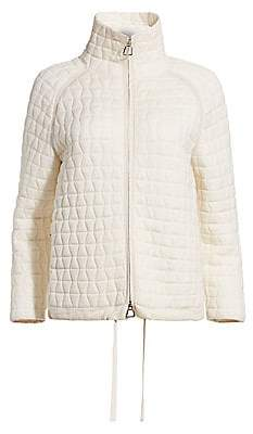 Akris Women's Quilted Wool-Blend Jacket