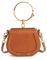 Chloé Small Nile Bracelet Leather Crossbody Bag - Brown