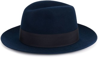 Hermes Pre-Owned Woven Fedora Hat