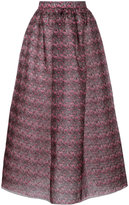 Huishan Zhang floral print skirt