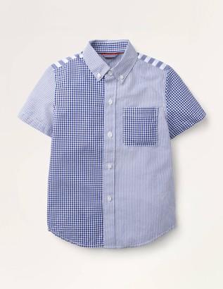 Short-Sleeved Poplin Shirt