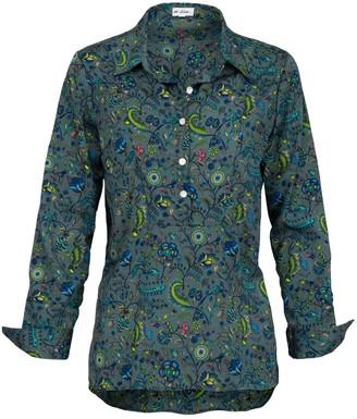 At Last... Soho Shirt- Multi Green