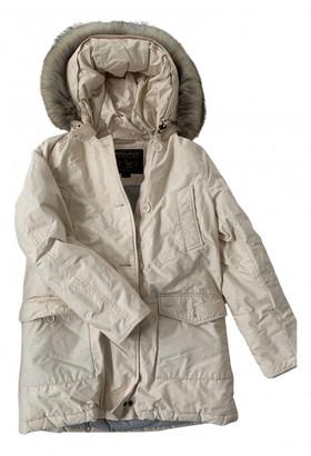 Woolrich Pink Cotton Coats