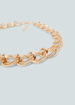 Mango Outlet Link necklace