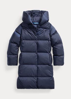 Ralph Lauren Quilted Hooded Down Coat