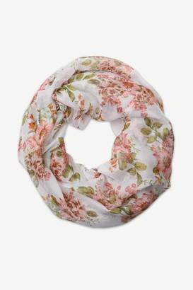 Ardene Lightweight Floral Infinity Scarf