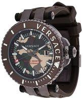 Versace 'V Race Camo Diver' watch