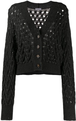 Brunello Cucinelli Chunky Knit Cardigan