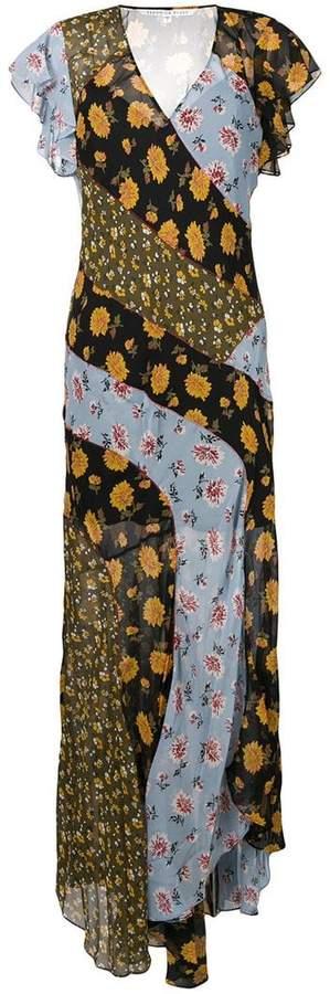 Veronica Beard floral long dress