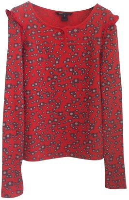 Marc Jacobs Red Cotton Top for Women