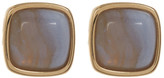 Cole Haan 12K Gold Plated Semi-Precious Stone Stud Earrings