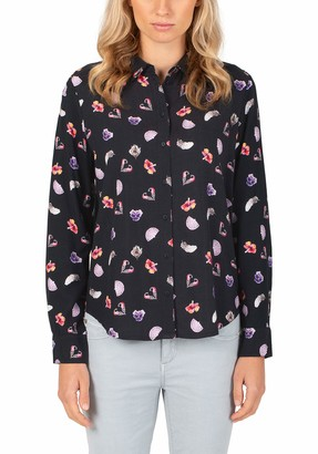 Timezone Women's Printed Viscose Blouse