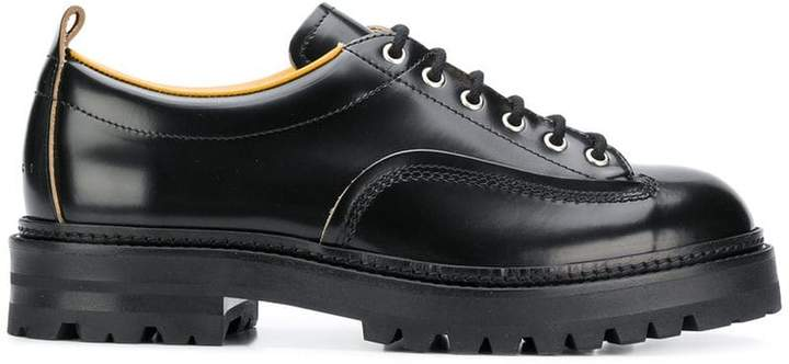 Marni round toe lace-up shoes