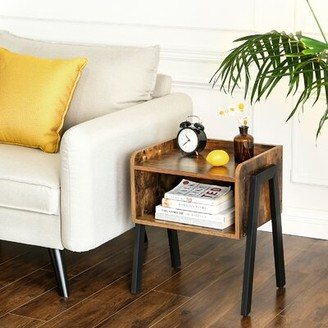 Millwood Pines Shira Tray Top End Table Set with Storage