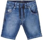 Diesel Blue Jog Jean Shorts