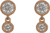 Tate Women's Diamond Double-Drop Earrings