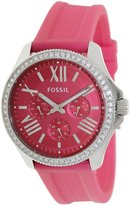 Fossil Women's Cecile AM4488 Silicone Quartz Watch with Dial