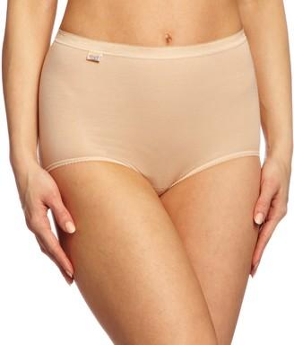 Sloggi Women's Basic Maxi 3 Pack plain Basic+ premium comfort Knickers