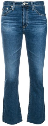 AG Jeans faded slim fit jeans